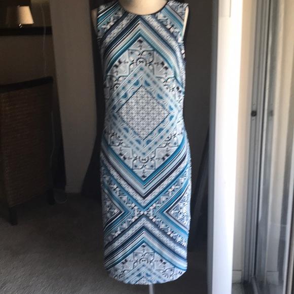76b8fcf7 White House Black Market Dresses | Reversible Sheath Dress | Poshmark